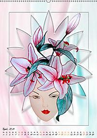 Lady Lilien (Wandkalender 2019 DIN A2 hoch) - Produktdetailbild 4