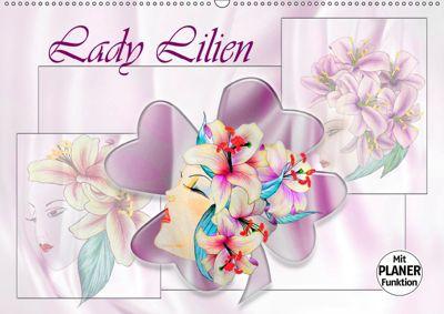 Lady Lilien (Wandkalender 2019 DIN A2 quer), Dusanka Djeric