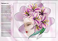 Lady Lilien (Wandkalender 2019 DIN A2 quer) - Produktdetailbild 2