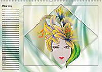 Lady Lilien (Wandkalender 2019 DIN A2 quer) - Produktdetailbild 3