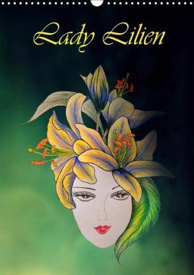 Lady Lilien (Wandkalender 2019 DIN A3 hoch), Dusanka Djeric