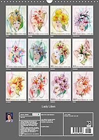 Lady Lilien (Wandkalender 2019 DIN A3 hoch) - Produktdetailbild 13
