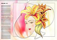 Lady Lilien (Wandkalender 2019 DIN A3 quer) - Produktdetailbild 1