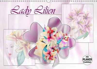 Lady Lilien (Wandkalender 2019 DIN A3 quer), Dusanka Djeric