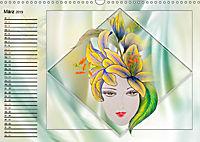 Lady Lilien (Wandkalender 2019 DIN A3 quer) - Produktdetailbild 3