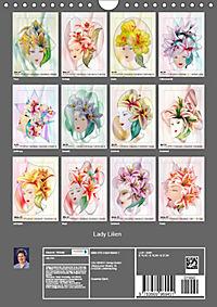 Lady Lilien (Wandkalender 2019 DIN A4 hoch) - Produktdetailbild 13