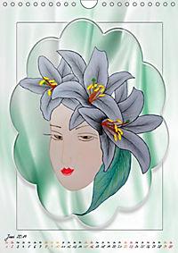 Lady Lilien (Wandkalender 2019 DIN A4 hoch) - Produktdetailbild 6