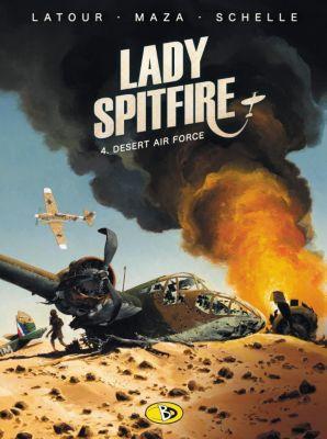 Lady Spitfire - Desert Air Force