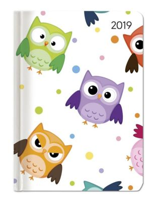 Ladytimer Funny Owls 2019, ALPHA EDITION