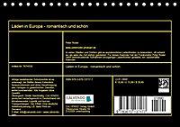 Läden in Europa - romantisch und schön (Tischkalender 2019 DIN A5 quer) - Produktdetailbild 13