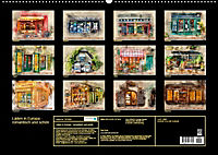 Läden in Europa - romantisch und schön (Wandkalender 2019 DIN A2 quer) - Produktdetailbild 13