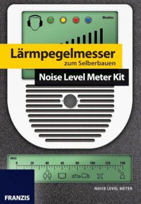 Lärmpegelmesser zum Selberbauen, Platine mit Bauteilen, Burkhard Kainka