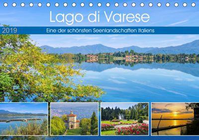 Lago di Varese - Eine der schönsten Seenlandschaften Italiens (Tischkalender 2019 DIN A5 quer), LianeM