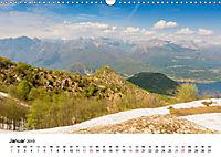 Lago Maggiore - Das westliche UferCH-Version (Wandkalender 2019 DIN A3 quer) - Produktdetailbild 1