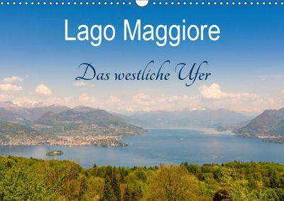 Lago Maggiore - Das westliche UferCH-Version (Wandkalender 2019 DIN A3 quer), Martin Wasilewski