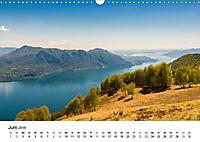 Lago Maggiore - Das westliche UferCH-Version (Wandkalender 2019 DIN A3 quer) - Produktdetailbild 6