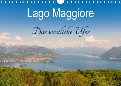 Lago Maggiore - Das westliche UferCH-Version (Wandkalender 2019 DIN A4 quer), Martin Wasilewski