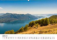 Lago Maggiore - Das westliche UferCH-Version (Wandkalender 2019 DIN A2 quer) - Produktdetailbild 6