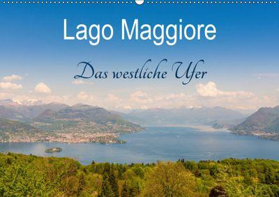 Lago Maggiore - Das westliche UferCH-Version (Wandkalender 2019 DIN A2 quer), Martin Wasilewski