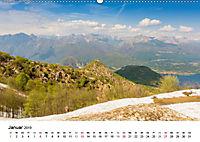 Lago Maggiore - Das westliche UferCH-Version (Wandkalender 2019 DIN A2 quer) - Produktdetailbild 1