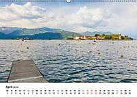 Lago Maggiore - Das westliche UferCH-Version (Wandkalender 2019 DIN A2 quer) - Produktdetailbild 4