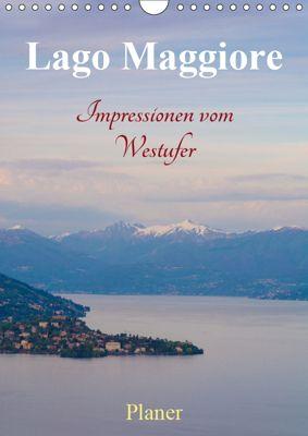 Lago Maggiore - Impressionen vom Westufer (Wandkalender 2019 DIN A4 hoch), Martin Wasilewski