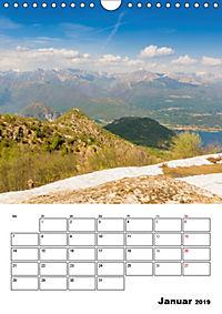 Lago Maggiore - Impressionen vom Westufer (Wandkalender 2019 DIN A4 hoch) - Produktdetailbild 1