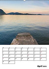 Lago Maggiore - Impressionen vom Westufer (Wandkalender 2019 DIN A2 hoch) - Produktdetailbild 4