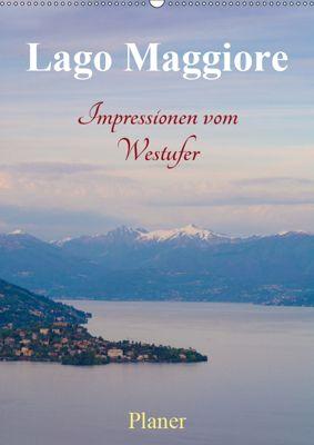 Lago Maggiore - Impressionen vom Westufer (Wandkalender 2019 DIN A2 hoch), Martin Wasilewski