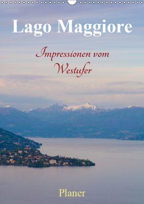 Lago Maggiore - Impressionen vom Westufer (Wandkalender 2019 DIN A3 hoch), Martin Wasilewski