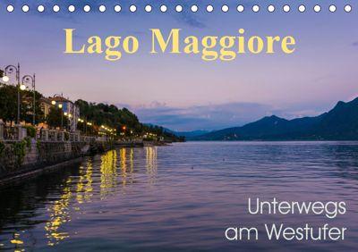 Lago Maggiore - Unterwegs am Westufer (Tischkalender 2019 DIN A5 quer), Martin Wasilewski