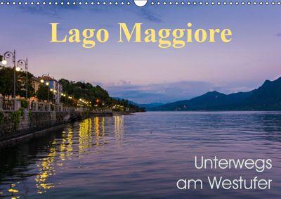 Lago Maggiore - Unterwegs am Westufer (Wandkalender 2019 DIN A3 quer), Martin Wasilewski