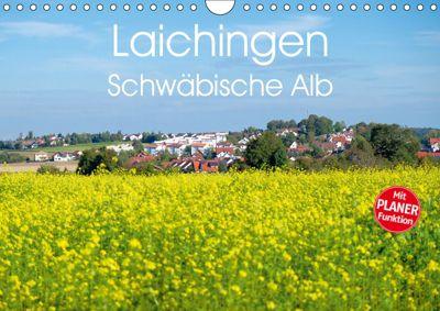 Laichingen - Schwäbische Alb Planer (Wandkalender 2019 DIN A4 quer), Michael Brückmann