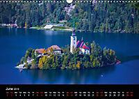 Lake Bled Slovenia (Wall Calendar 2019 DIN A3 Landscape) - Produktdetailbild 6