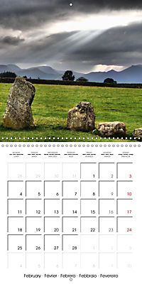 LAKE DISTRICT CUMBRIA Dramatic Art Photos (Wall Calendar 2019 300 × 300 mm Square) - Produktdetailbild 2