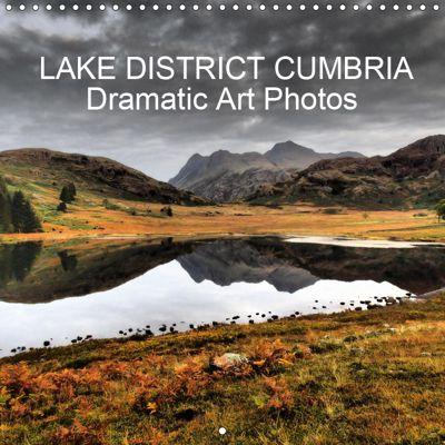LAKE DISTRICT CUMBRIA Dramatic Art Photos (Wall Calendar 2019 300 × 300 mm Square), John Phoenix Hutchinson