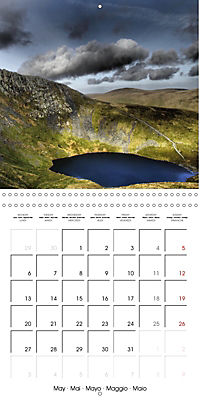 LAKE DISTRICT CUMBRIA Dramatic Art Photos (Wall Calendar 2019 300 × 300 mm Square) - Produktdetailbild 5