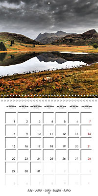 LAKE DISTRICT CUMBRIA Dramatic Art Photos (Wall Calendar 2019 300 × 300 mm Square) - Produktdetailbild 7