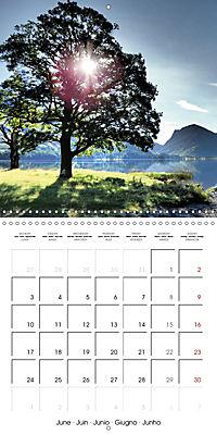 LAKE DISTRICT CUMBRIA Dramatic Art Photos (Wall Calendar 2019 300 × 300 mm Square) - Produktdetailbild 6