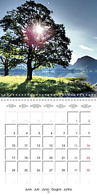 LAKE DISTRICT CUMBRIA Dramatic Art Photos (Wall Calendar 2019 300 × 300 mm Square) - Produktdetailbild 6