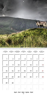 LAKE DISTRICT CUMBRIA Dramatic Art Photos (Wall Calendar 2019 300 × 300 mm Square) - Produktdetailbild 4