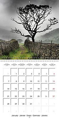 LAKE DISTRICT CUMBRIA Dramatic Art Photos (Wall Calendar 2019 300 × 300 mm Square) - Produktdetailbild 1