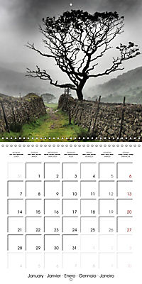 LAKE DISTRICT CUMBRIA Dramatic Art Photos (Wall Calendar 2019 300 × 300 mm Square) - Produktdetailbild 1