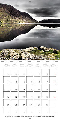 LAKE DISTRICT CUMBRIA Dramatic Art Photos (Wall Calendar 2019 300 × 300 mm Square) - Produktdetailbild 11