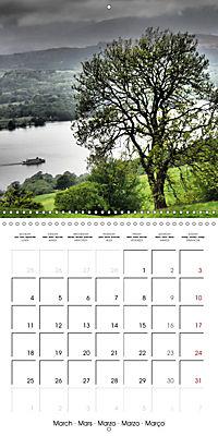 LAKE DISTRICT CUMBRIA Dramatic Art Photos (Wall Calendar 2019 300 × 300 mm Square) - Produktdetailbild 3