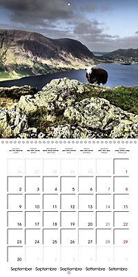 LAKE DISTRICT CUMBRIA Dramatic Art Photos (Wall Calendar 2019 300 × 300 mm Square) - Produktdetailbild 9
