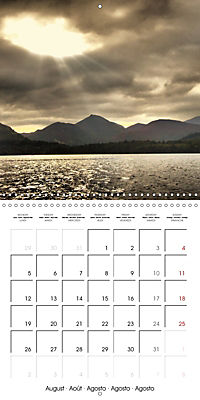 LAKE DISTRICT CUMBRIA Dramatic Art Photos (Wall Calendar 2019 300 × 300 mm Square) - Produktdetailbild 8