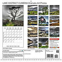 LAKE DISTRICT CUMBRIA Dramatic Art Photos (Wall Calendar 2019 300 × 300 mm Square) - Produktdetailbild 13