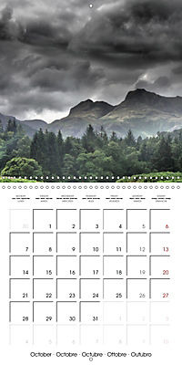 LAKE DISTRICT CUMBRIA Dramatic Art Photos (Wall Calendar 2019 300 × 300 mm Square) - Produktdetailbild 10