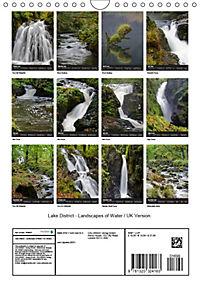 Lake District - Landscapes of Water / UK Version (Wall Calendar 2019 DIN A4 Portrait) - Produktdetailbild 13